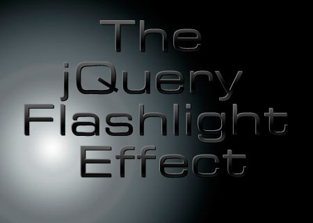 jQuery Flashlight